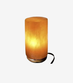 Cylindrical Shape Himalayan Salt Lamp