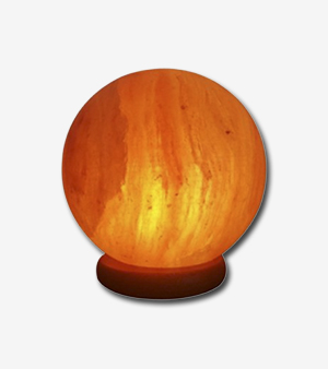 Round Shape Himalyan Salt Table Lamp