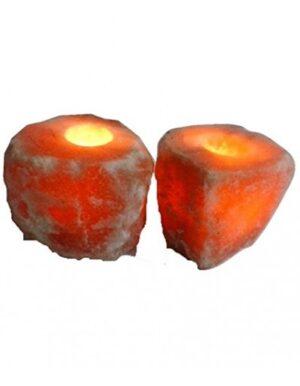Online Salt Tea Light Candle Holders Pack Of 2