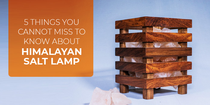5 Things You cannot miss to know about Himalayan Salt Lamp