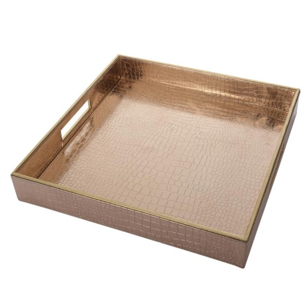 Rose Gold Square Tray