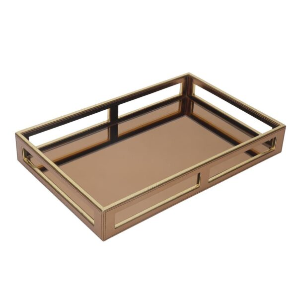 Gold Glass Tray
